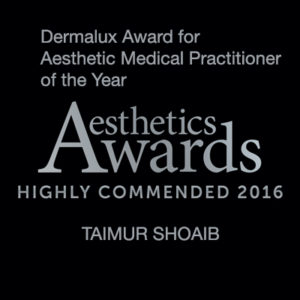 Aesthetic Awards 2016 Highly Commended Taimur Shoaib