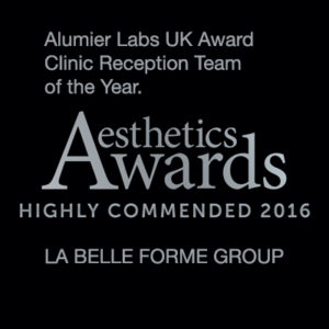 Aesthetic Awards highly recommened La Belle Forme Group Reception
