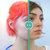 Rhinoplasty before and after split